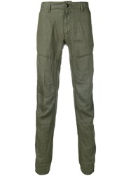C.P. Company Cp Ergonomic Fit Trousers Green