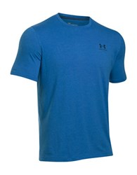Under Armour Charged Cotton Sportstyle T Shirt Bright Blue