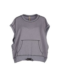 Le Coeur De Twin Set Simona Barbieri Topwear Sweatshirts Women Light Purple