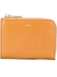 A.P.C. 'Julian' Wallet Nude And Neutrals