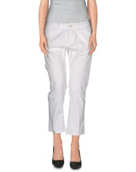 Polo Jeans Company Trousers 3 4 Length Trousers Women White