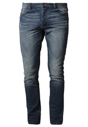 Pier One Slim Fit Jeans Light Wash Stone Blue