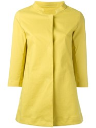 Herno Lemon Raincoat Yellow Orange