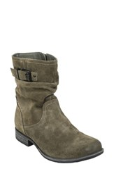 Earth Beaufort Boot Olive Suede