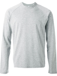 Aspesi Crew Neck Sweatshirt Grey