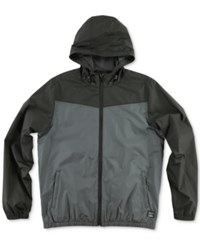O'neill Men's Traveler Windbreaker Jacket Asphalt