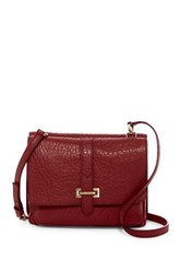 Fossil Maddie Small Leather Crossbody Red
