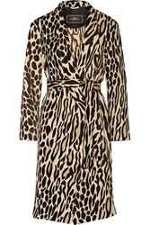 By Malene Birger Apponia Leopard Jacquard Coat Brown