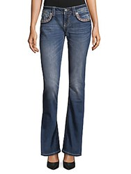 Miss Me Embroidered Bootcut Jeans Multi