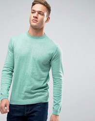 Only And Sons Fine Knit Jumper Loden Green Khaki