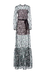 Alexis Holly Long Sleeve Embellished Gown Multi