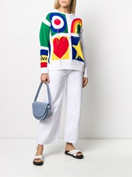 Iceberg Colour Block Relaxed Fit Jumper 60