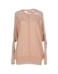 Betty Blue Knitwear Cardigans Women Skin Color