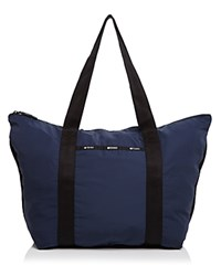 Le Sport Sac Lesportsac Large On The Go Tote Classic Navy
