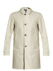 Herno Laminar Single Breasted Overcoat Beige