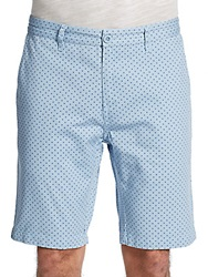 Saks Fifth Avenue Red Polka Dot Print Cotton Shorts