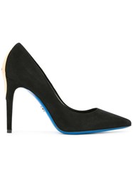 Loriblu Pointed Toe Pumps Black
