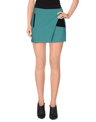 Cnc Costume National C'n'c' Costume National Mini Skirts Deep Jade