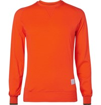 Chpt. 1.82 Wool Blend Cycling Base Layer Orange