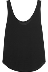 Frame Denim Le Slouchy Tencel Tank Black