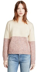 Cupcakes And Cashmere Carmel Sweater Soft Tan