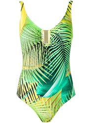 Lygia And Nanny Printed Swimsuit Green
