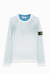 Stone Island Men S Round Neck Jumper Boutique1 Blue