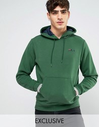 Fila Vintage Hoodie With Small Script Green