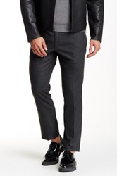 Kenneth Cole Zip Jogger Dress Pant 29 34' Inseam Black