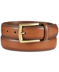 Club Room Men's Feather Edge Belt Only At Macy's Tan