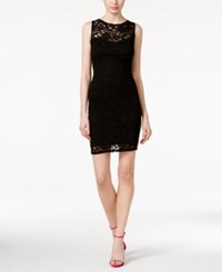Jump Juniors' Lace Tie Back Sheath Dress