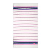 Joules Potting Shed Stripe Beach Towel Creme
