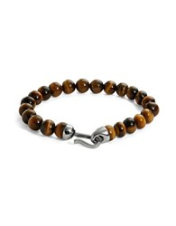 Zack Tigers Eye Beaded Bracelet Tiger Eye