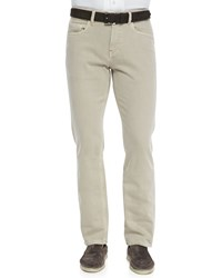 Loro Piana 5 Pocket Denim Jeans Light Nougat