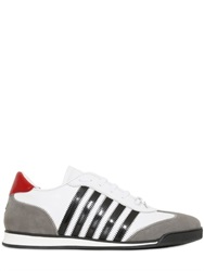 Dsquared2 Leather And Suede Running Sneakers