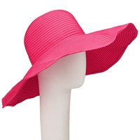John Lewis Packable Floppy Hat Candy Pink