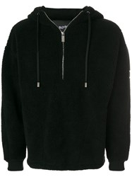 Blood Brother Borg Hoodie Acrylic Polyester Black
