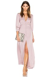 Oh My Love 3 4 Sleeve Maxi Tea Dress Pink