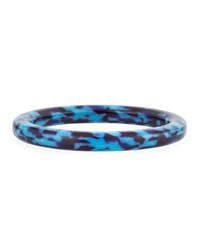 Lele Sadoughi Broadway Colorblock Bangle Blue