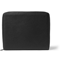Mulberry Leather Document Holder Black