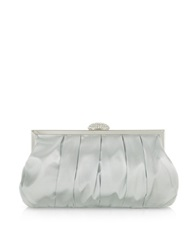 Julia Cocco' Mini Satin Clutch Silver