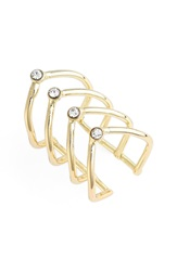 Jules Smith Designs Cage Ring Yellow Gold