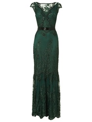 Phase Eight Collection 8 Cindy Lace Full Length Dress Forest