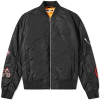 Mcq By Alexander Mcqueen Badges Ma 1 Jacket Black
