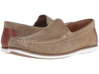 Hush Puppies Bob Portland Taupe Suede Men's Slip On Shoes