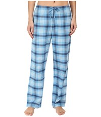 Life Is Good Blue Plaid Classic Sleep Pant Cloud Blue Plaid Women's Pajama