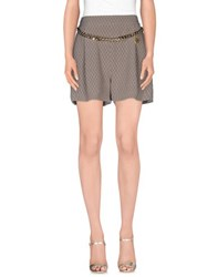 Elisabetta Franchi Skirts Mini Skirts Women Dove Grey