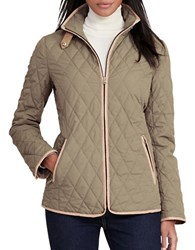 Lauren Ralph Lauren Diamond Quilted Jacket Green