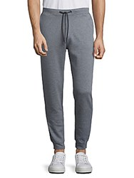 Saks Fifth Avenue Collection Solid Drawstring Sweatpants Grey