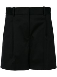 Theory High Waisted Shorts Black